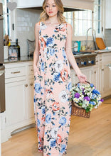 Load image into Gallery viewer, Floral Maxi Dress S-3X