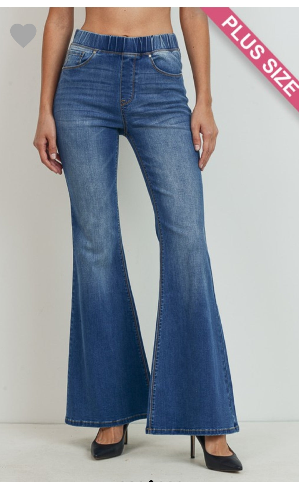Flare Jeans- Curvy