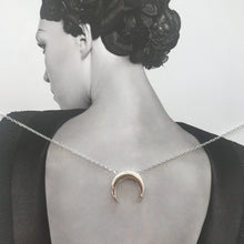 Load image into Gallery viewer, Breaking Dawn Necklace Silver