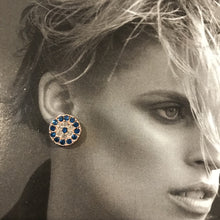 Load image into Gallery viewer, Zodiac Crystal Stud Earrings