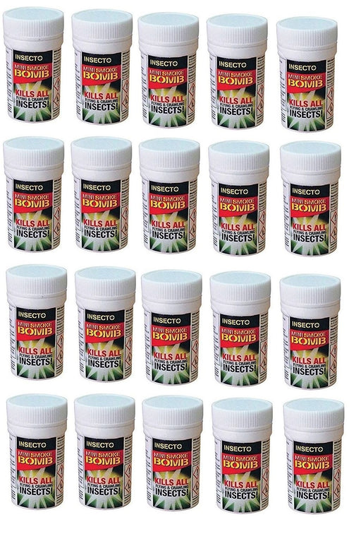 Fly and Flying Insect Smoke Bomb Fumers x 20