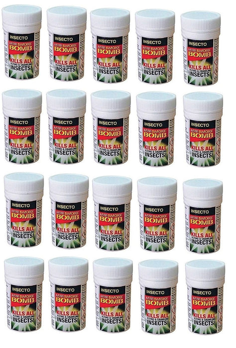 Carpet Moth Smoke Bomb Fumers x 20