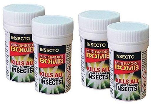 Fly and Flying Insect Smoke Bomb Fumers x 4