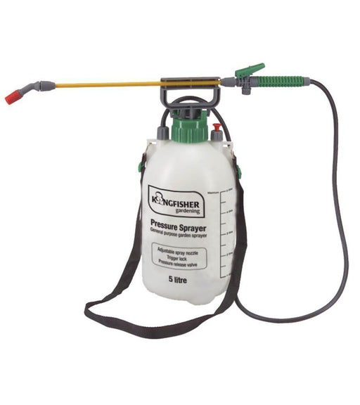 Pump Action Earwig Killer Insecticide Pressure Sprayer 5 ltr