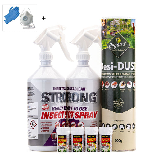 Bed Bug Control Treatment Pack 2