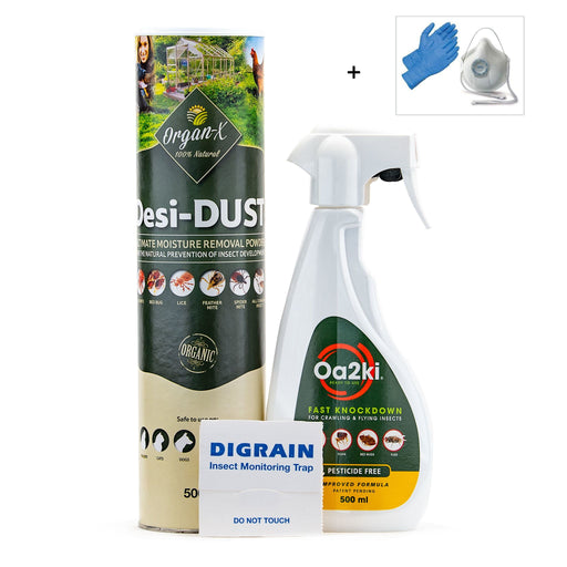 Organic Woodlice Control Treatment Pack
