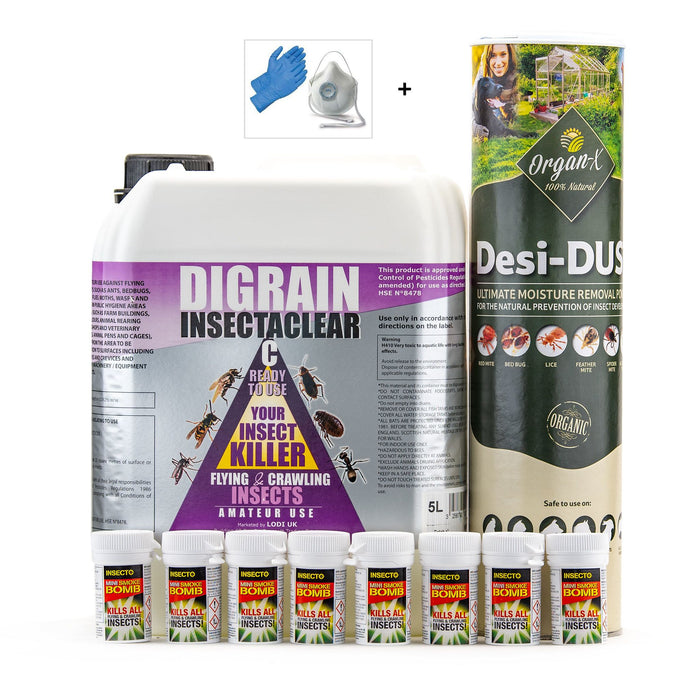 Common House Moth Control Treatment Pack 3
