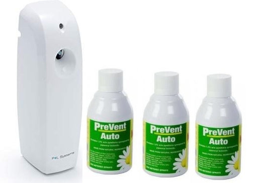 Microspray Automatic Mosquito and Midge Killer Pack