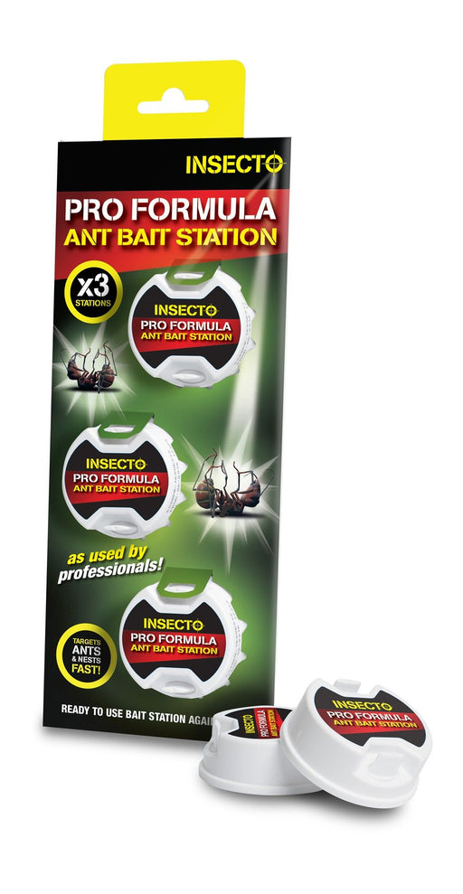 Pro Formula Indoor / Outdoor Ant Bait Station (3 pack)