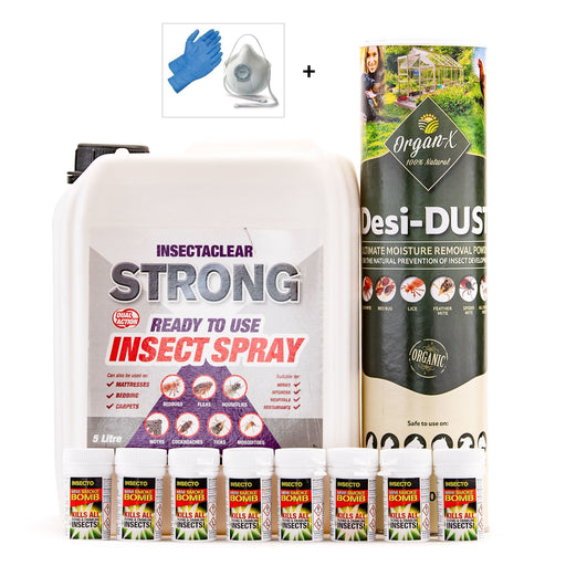 Bed Bug Control Treatment Pack 3