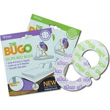 Bugo Bed Bug Traps x 12 for Soft Flooring