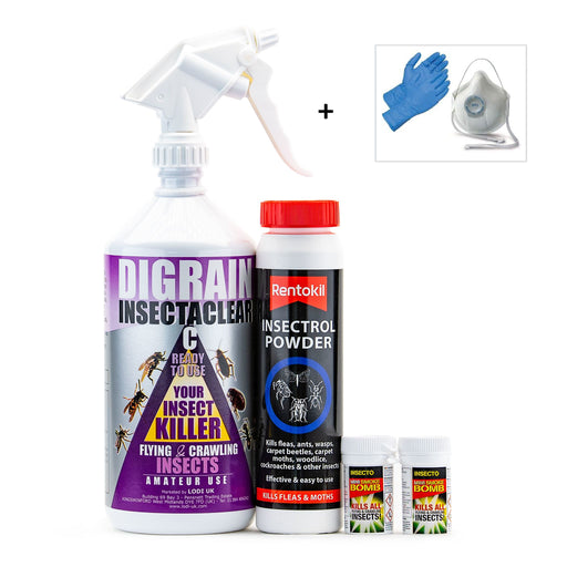 Carpet Moth and Carpet Beetle Control Treatment Pack 1