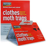 Clothes Moths Pheromone Traps x 2