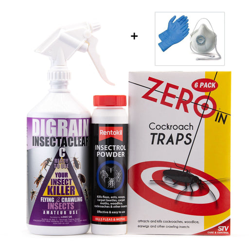 Cockroach Control Treatment Pack 1