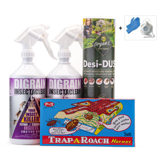 Cockroach Control Treatment Pack 2