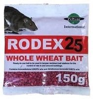 Rodex Wholewheat Rat Poison Bait Bags x 10