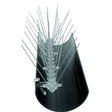 Bird Proofing Spikes Gutter Clips x 20