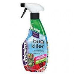 Greenhouse and Garden Bug Killing Spray