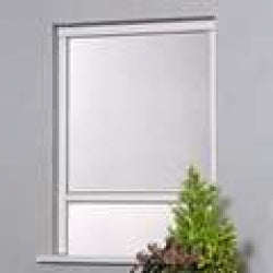 Retractable Window Fly Screen - 4AW White Alu