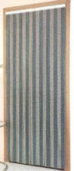 Metal Chain Door Fly Curtain - Stripes