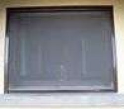 Retractable Window Fly Screen - Kit 3B Brown Alu