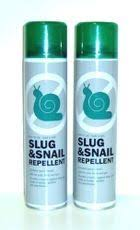 SAS Slug & Snail Repellent Aerosol Sprays x 2