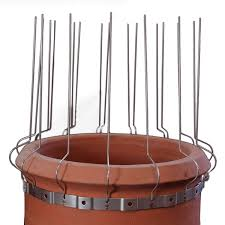 Chimney Pot Bird Proofing Spikes