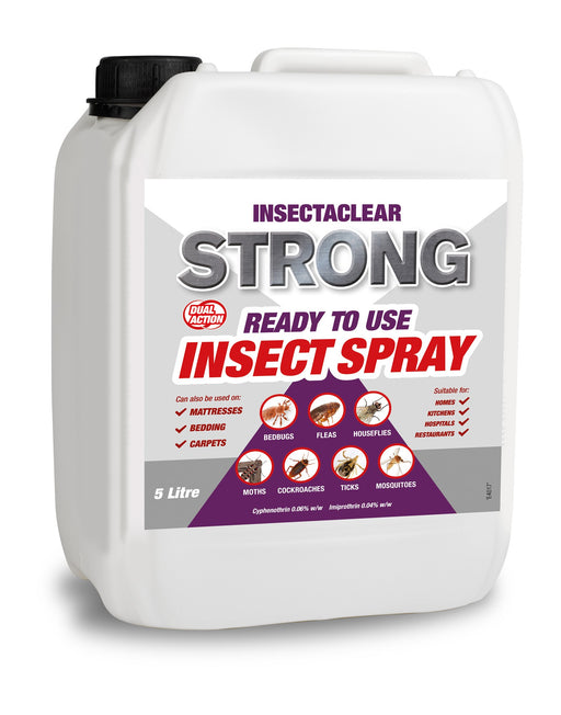 Insectaclear D Strong Flea Killer Insecticide 5ltr