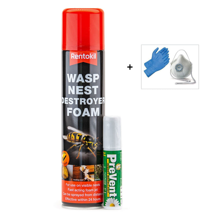 Wasp Nest Killer Pack 1 [where the nest can be seen]