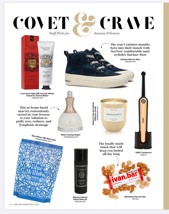 Covet & Crave: Staff Picks for January / February