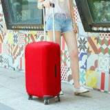 Solid Color Suitcase Protective Cover