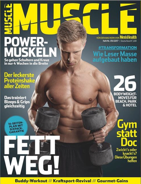 Muscle magazine Nico Airone