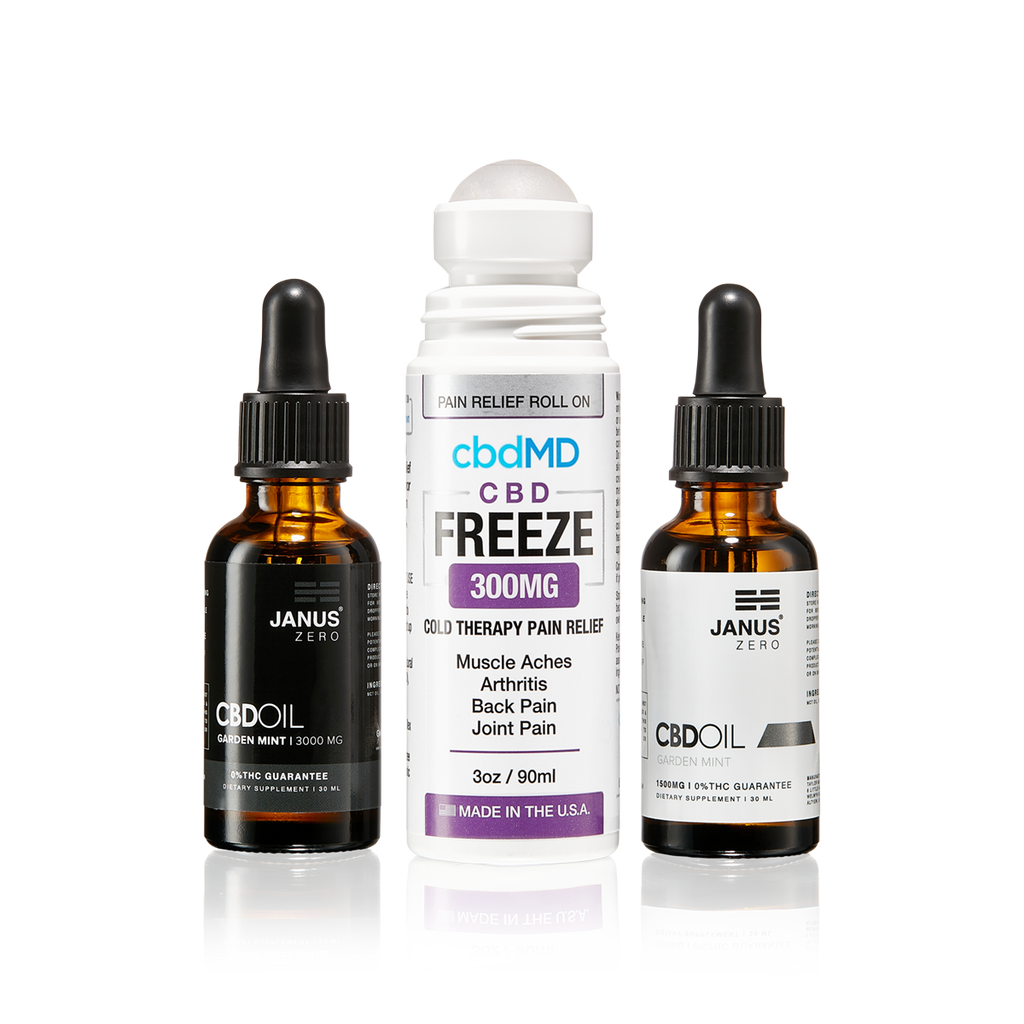 CBD Bundle | CBD for athletes, CBD Oil, CBD Freeze Roll on