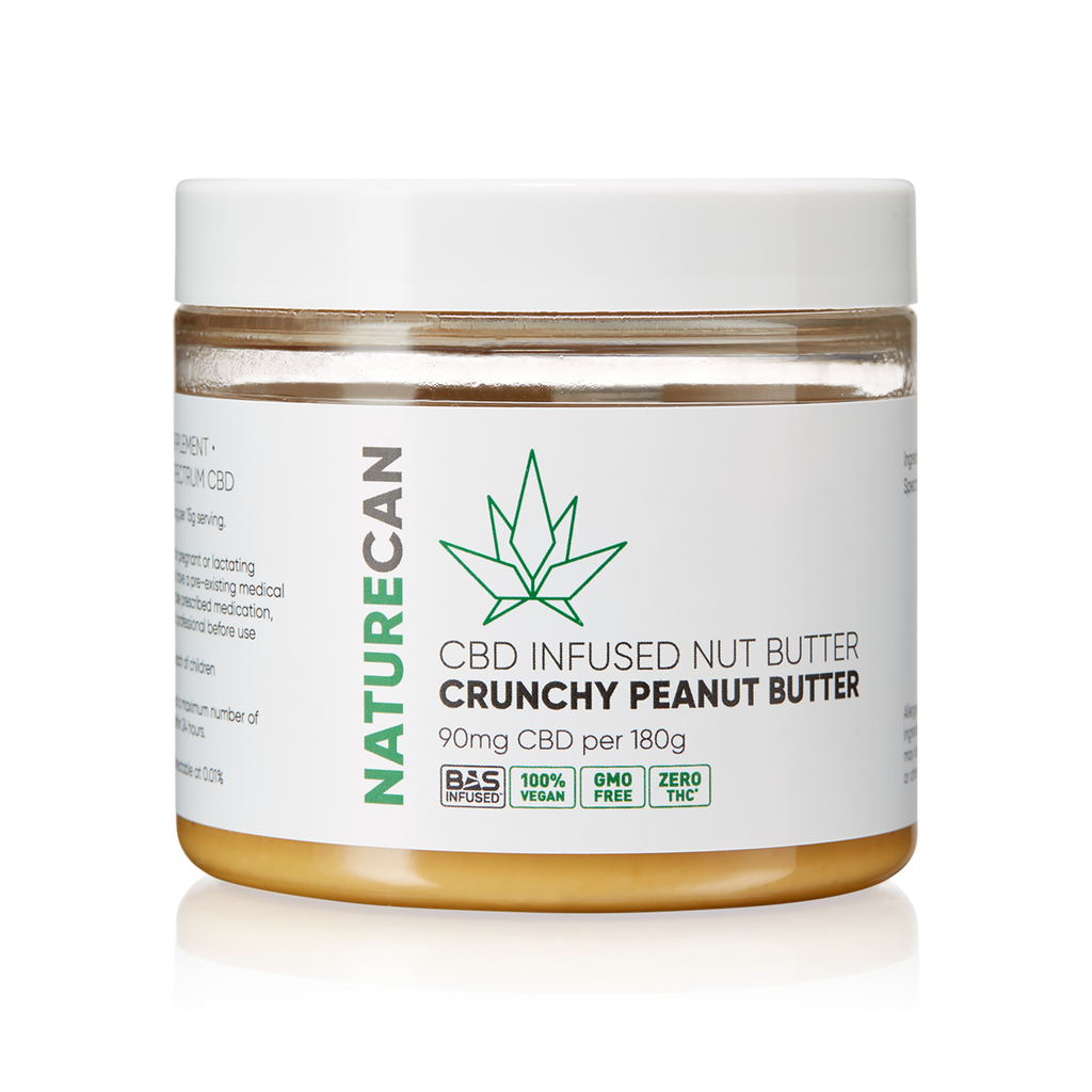 Naturecan CBD Peanut Butter | CBD Edibles