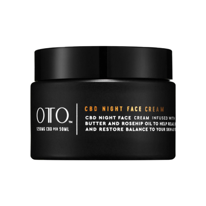 OTO CBD NIGHT FACE CREAM