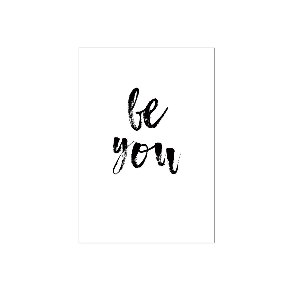 Art Print |  Be you - Statement