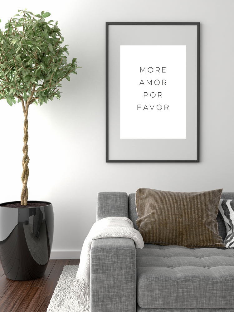 Art Print | more amor por favor