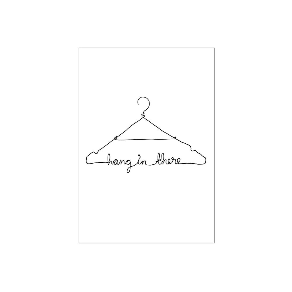 Art Print | hang in there