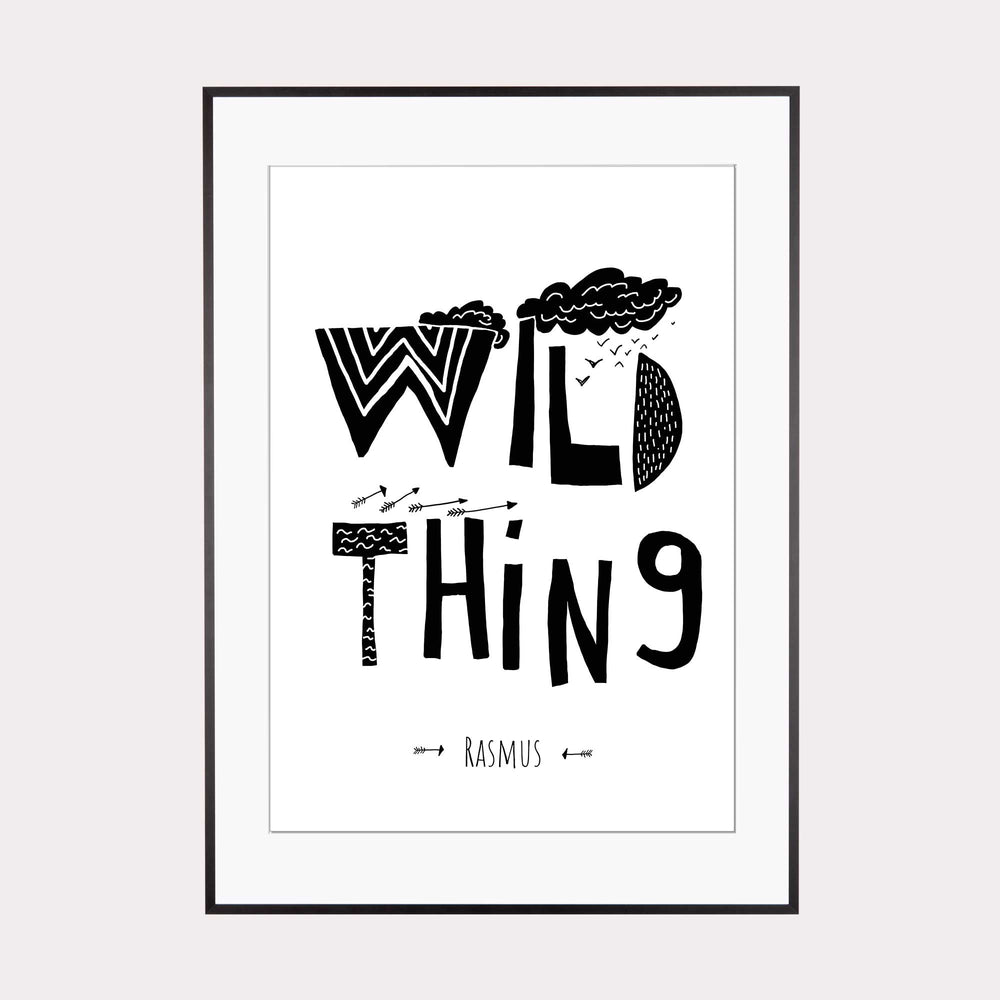 Illustration personalisierbar | Wild Thing