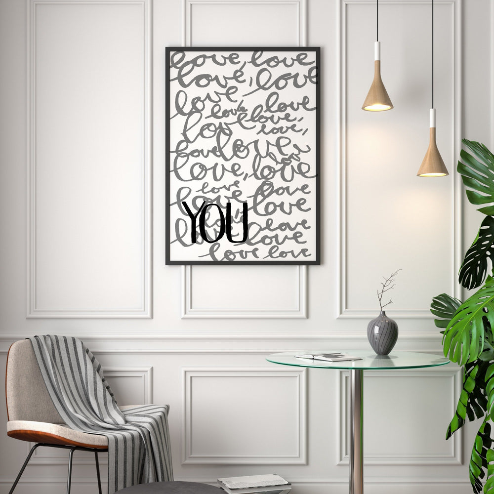Art Print | Love Love Love You