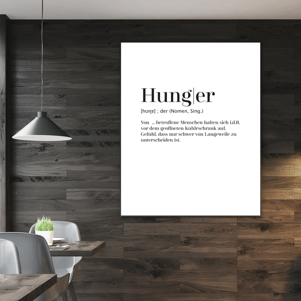 Hunger - Worterklärung Definition