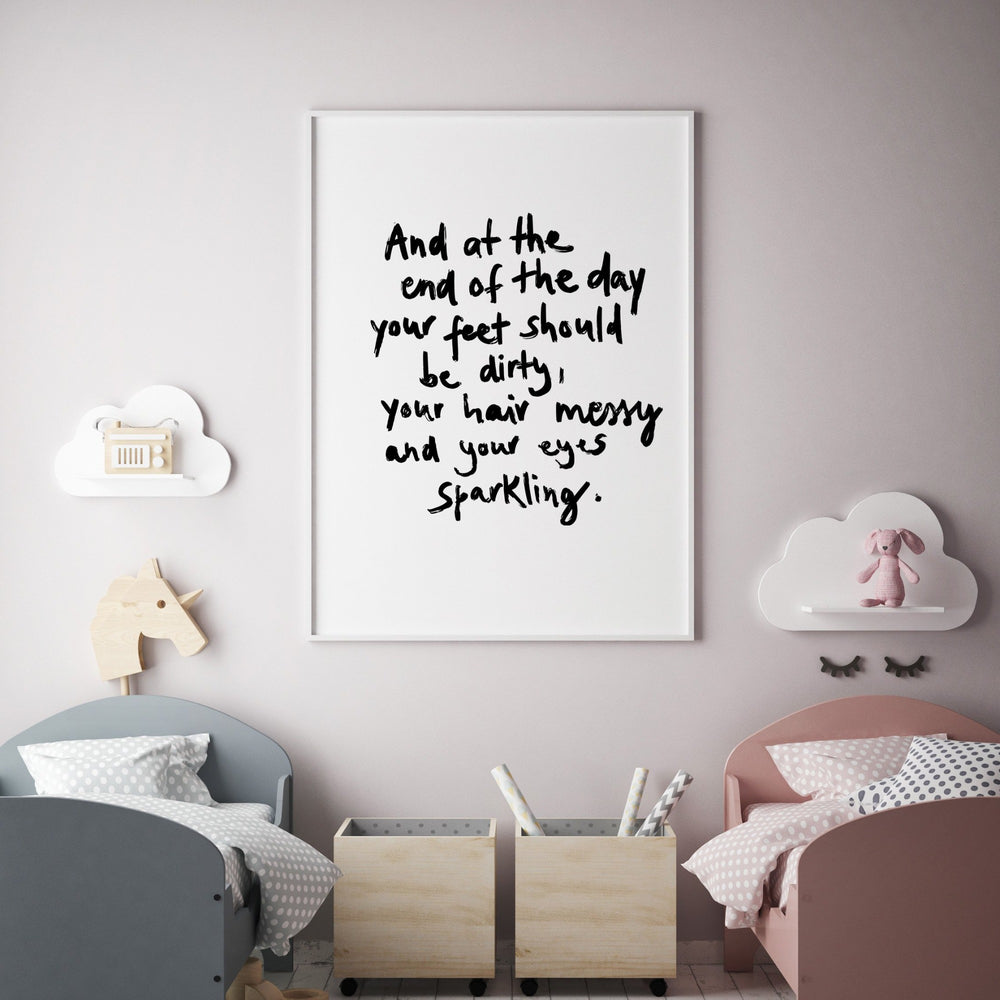 Art Print | At the End of the day