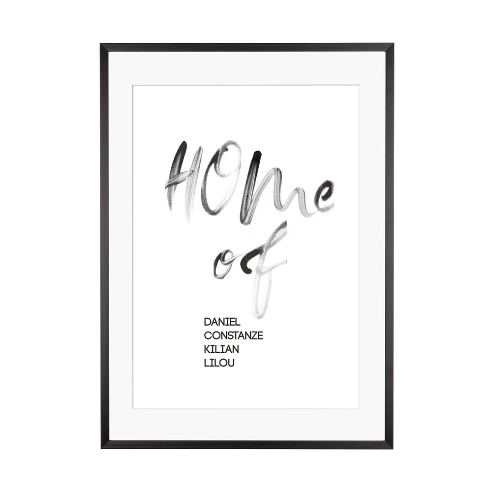 Print personalisierbar | Home of...