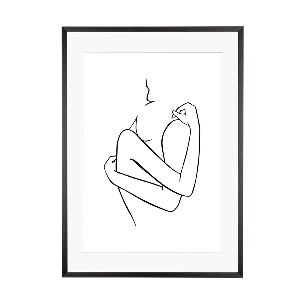Art Print | Outlines - Akt #1