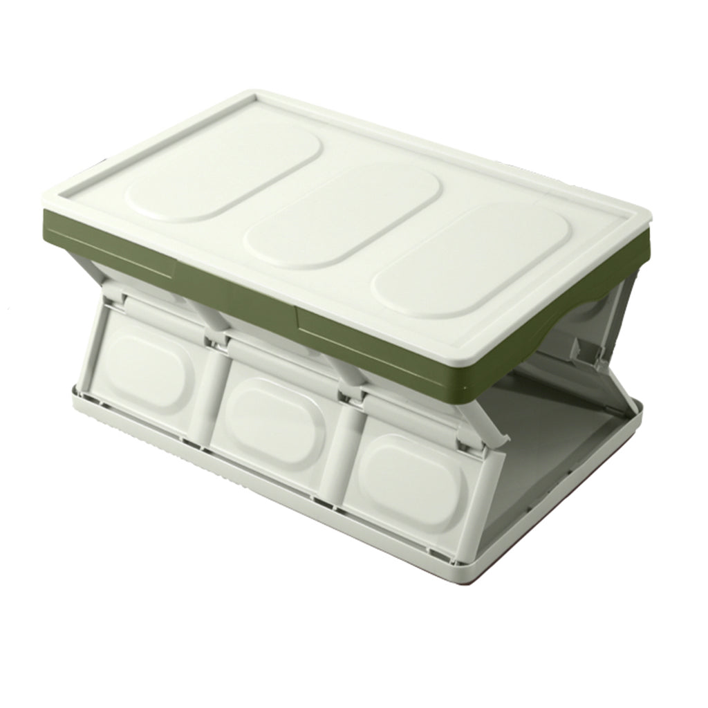 CAJA PLEGABLE CON TAPA - COLOR VERDE