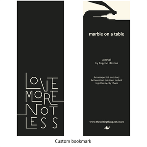 Marble on a Table: A Novel — Hardcover - The Writing Thing Press