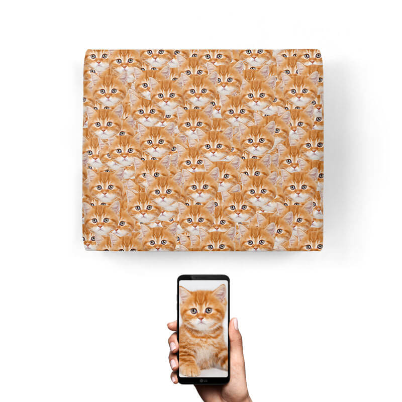 Your Cat Mash Up Wrapping Paper