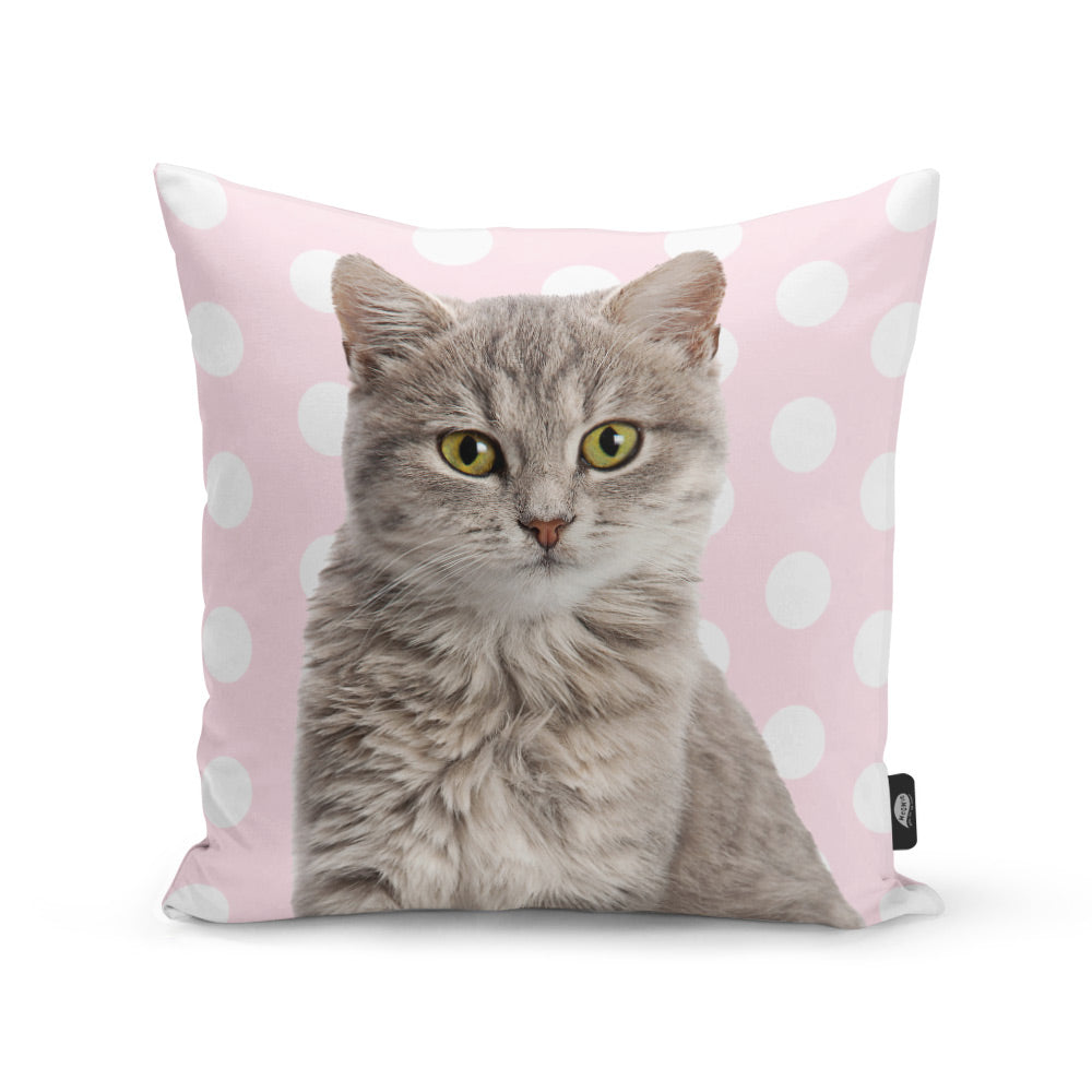 Your Cat Pattern Cushion