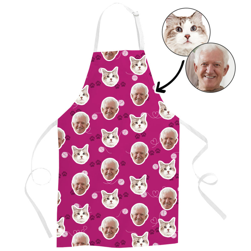 Cat & Owner Apron