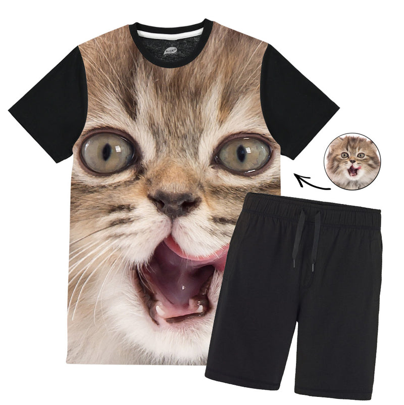Cat Face Splat Pyjamas